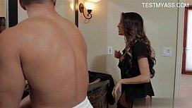 Hot daughter punish