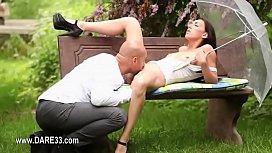 Pink kneesocks and subtle erotica
