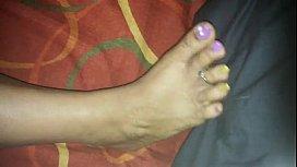 ebony foot job thicksoles