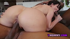 Milf confesses she'_s a nympho when it comes to a big black cock