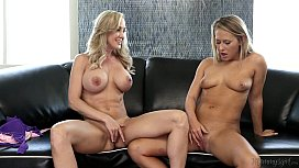 Brandi Love Fucks Carter Cruise With A Strapon