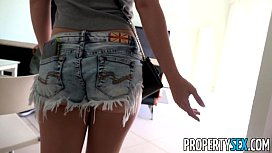 Prope ex Horny blonde cheats on her boyfriend with real estate agent