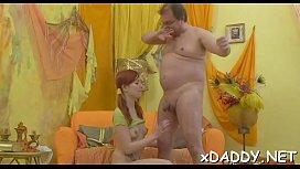 Porn fucked an asian woman between her big boobs