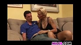 Mature Blonde Mother From Europe Having Sex