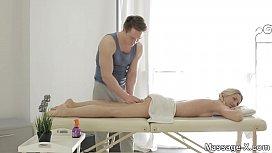 MassageX Oiledup tease and lovemaking Jessi Gold
