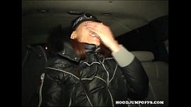 HOODJUMPOFFS: LATINA HOOKER DOES HER FIRST AMATEUR BLOWJOB VIDEO IN OUR SUV