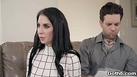 Babysitter Elsa Jean is a perfect choice for horny couple Joanna Angel and Small Hands.She joins in a family 3some and totally loveed an awesome fuck.