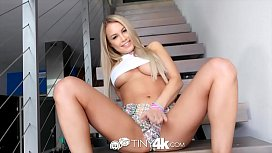 Tiny4k Busty blonde Kendall Kayden fucked and facialed
