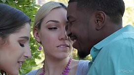 Interracial threesome with Lily LaBeau and Abella Danger fionnaandjimmy
