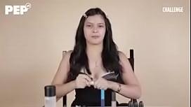 Bianca Umali applies Make Up