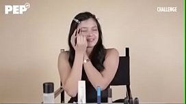 Bianca Umali applies Make Up