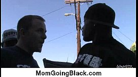 My mom go black : Hardcore interracial video 4