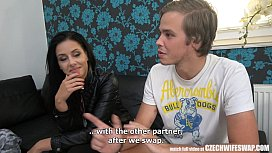 Uncensored True Face of Czech Wife SWAP