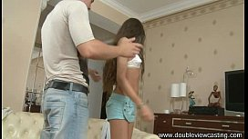 DOUBLEVIEWCASTING.COM - AGNESSA DEVOURS BIG CUM-STICK
