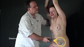 Isabels Deans whipping to tears and electro of crying amateur slave girl