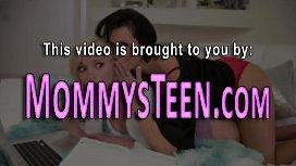 Lesbian teen licks cougar