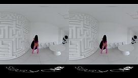 StasyQVR - 180 VR Porn Video - Frisky Fishnets with SilyQ