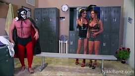Nikki Benz Jessica Jaymes threesome hinaespornvids