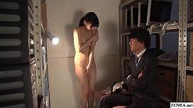 JAV CMNF ENF Maki Hoshikawa Office Striptease Subtitled