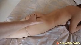 ASIANSEXDIARY ASIAN SLUT ENJOYS BIG WHITE DICK AND GET CREAMPIE link for more: https://link5s.co/HVbHw