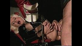Beautiful High-Heels Blonde MILF Hard Anal Big Cock, Leather Fetish, Helen Duval