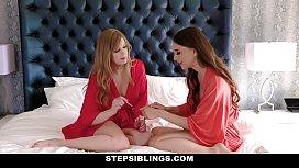 StepSiblings - Sexy Teens Get Penetrated By Big Dick