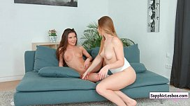 SapphicErotica Pretty Lesbians Doing It Right Free Video from www.SapphicLesbos.com 04