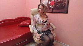 Mature secretary tease you with her body and do JOI.