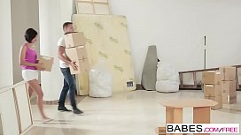 Babes - Step Mom Lessons - (Shalina Levine) and Rubby Belle - Moving In and Out