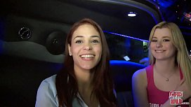 GIRLS GONE WILD - Cum Join The Lesbian Limo Party!