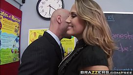 Big Tits at School Mean Teacher Fuck Her Former Student scene starring Alanah Rae Jo Sin