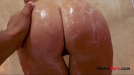 Mom And Massage- Blonde Mom Fucks SOn-India Summer