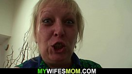Horny mother inlaw seduces him into cheating sex