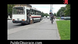 Hot Public Scene On The Bus