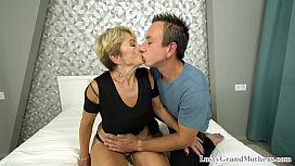 Old dear fucking younger guys hard dick