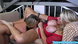 Trisha Uptown Gets Some Sweet Pussy Love From Vicky Vette