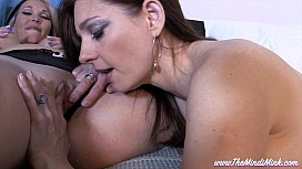 Catching Your Sexy Mom and Step-Auntie MINDI MINK LESBIAN TABOO POV