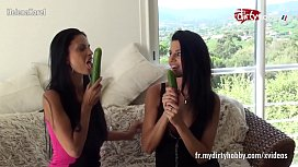 My Dirty Hobby French lesbians cucumber fuck