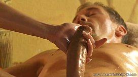 Beautiful Blonde MILF Massage