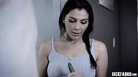 Big boobs European MILF housemaid banged by house owner