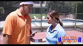 Bratty Teen Fucked By Tennis Coach