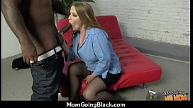 Huge Black Meat Going into Horny Mom 22