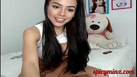 Sexy, Horny, Tiny Teen Latina