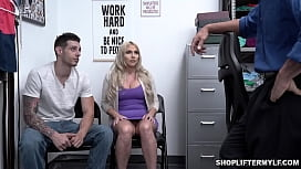 Christie Stevens strikes a deal with the police officer and offered sex to get her stepson out of trouble.