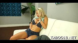 Smokin'_ hot blonde teen takes pleasure working a hard ding-dong