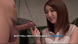 Rikka Anna amazing asian blowjob with sensual  - More at javhd.net