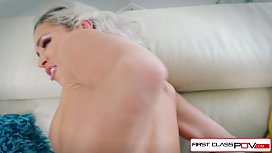Kacey Jordan gets fucked by a huge cock in POV style