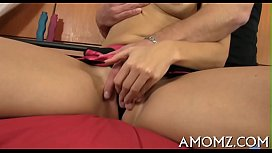 Mature honey moans and acquires off