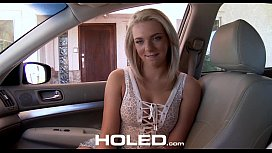 HOLED - Step sister Tiffany Dawson begs for anal