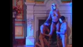 He didnt expect to see his blonde french wife Lisa Crawford fuck in an orgy